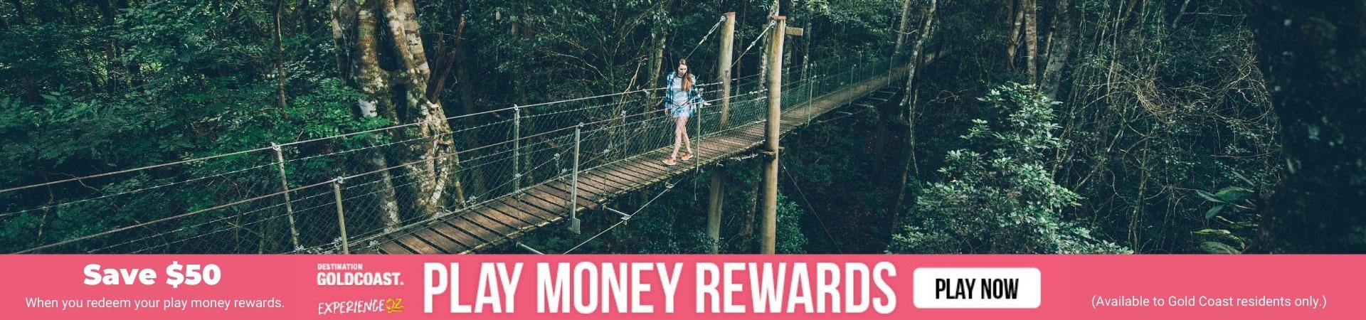 Gold Coast Play Money Rewards